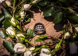 snubní-prsteny,svatební fotografie botanikus