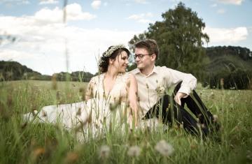 svatební fotograf boho svatba přírodní svatba-63