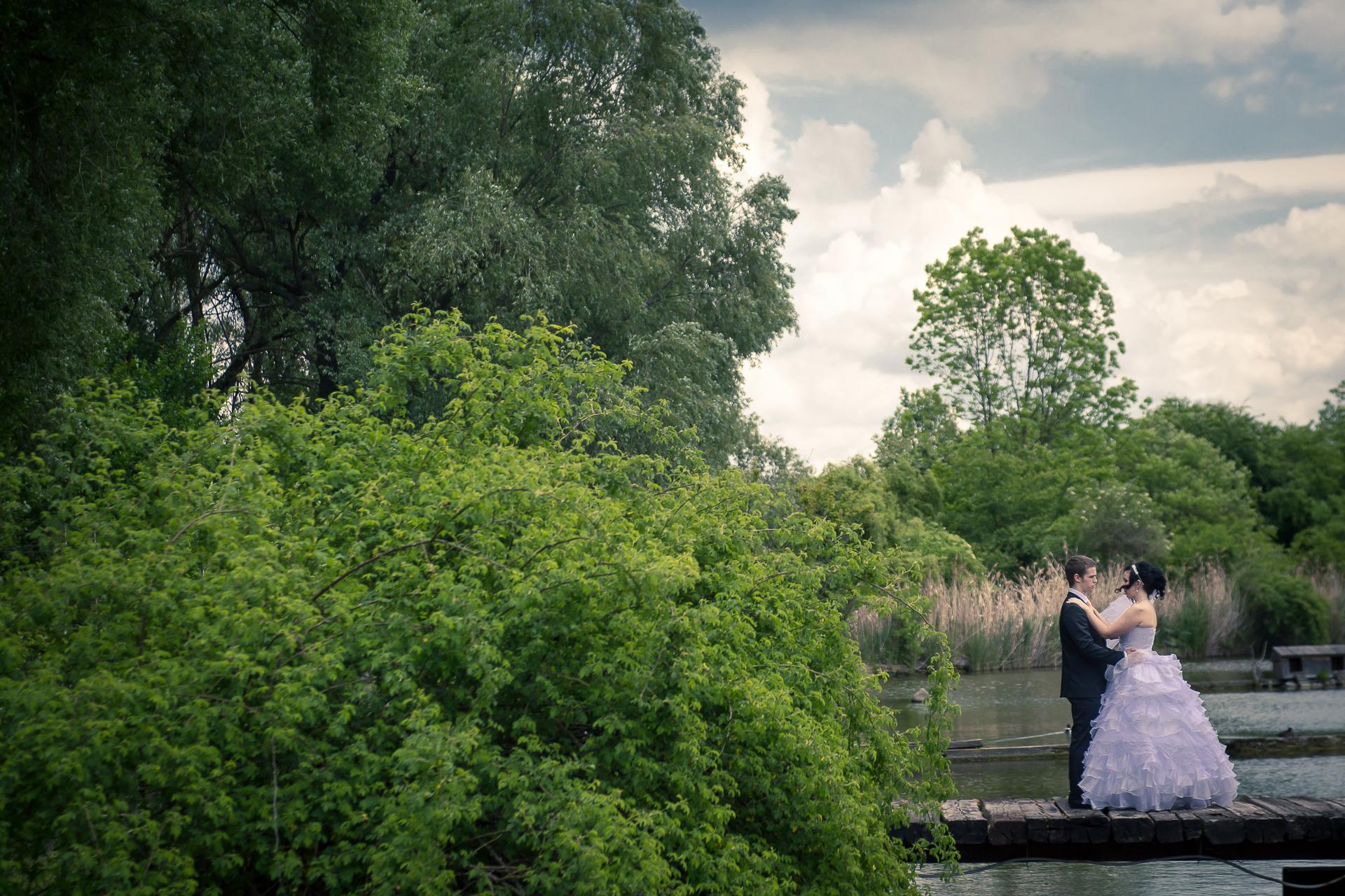 svatební fotografie  portrét resort Svět Úžice
