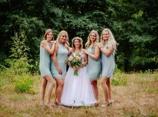 svatba v boho stylu, rustikální svatba, přírodní letní svatba Kokořínsko-122