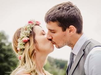 svatba v boho stylu, rustikální svatba, přírodní letní svatba Kokořínsko-155