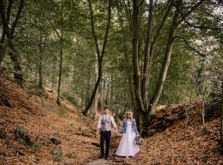 svatba v boho stylu, rustikální svatba, přírodní letní svatba Kokořínsko-164