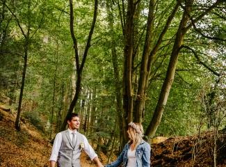 svatba v boho stylu, rustikální svatba, přírodní letní svatba Kokořínsko-165