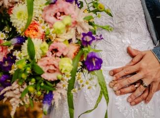 svatba v boho stylu, rustikální svatba, přírodní letní svatba Kokořínsko-167