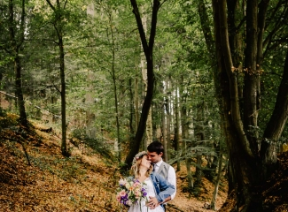 svatba v boho stylu, rustikální svatba, přírodní letní svatba Kokořínsko-169