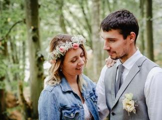svatba v boho stylu, rustikální svatba, přírodní letní svatba Kokořínsko-181