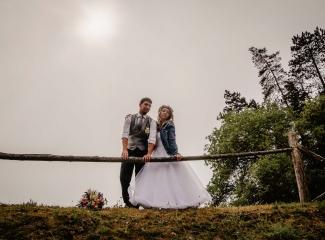 svatba v boho stylu, rustikální svatba, přírodní letní svatba Kokořínsko-195