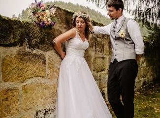 svatba v boho stylu, rustikální svatba, přírodní letní svatba Kokořínsko-201
