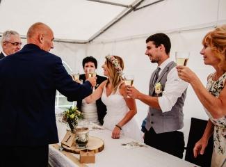 svatba v boho stylu, rustikální svatba, přírodní letní svatba Kokořínsko-221