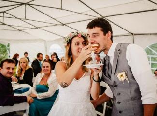 svatba v boho stylu, rustikální svatba, přírodní letní svatba Kokořínsko-228