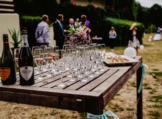 svatba v boho stylu, rustikální svatba, přírodní letní svatba Kokořínsko-7
