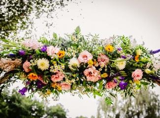 svatba v boho stylu, rustikální svatba, přírodní letní svatba Kokořínsko-8