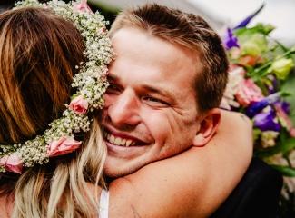 svatba v boho stylu, rustikální svatba, přírodní letní svatba Kokořínsko-97