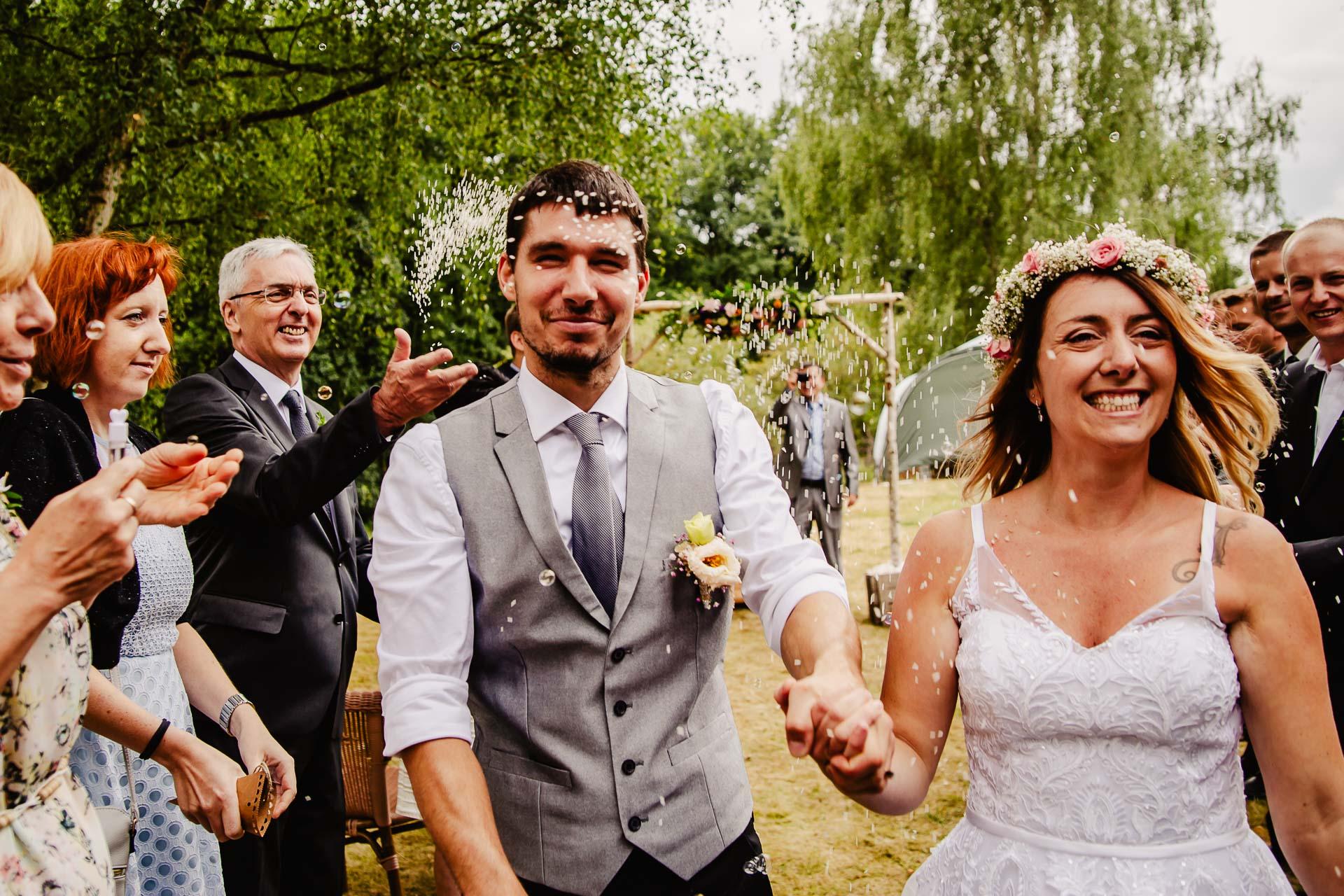 svatba v boho stylu, rustikální svatba, přírodní letní svatba Kokořínsko-107