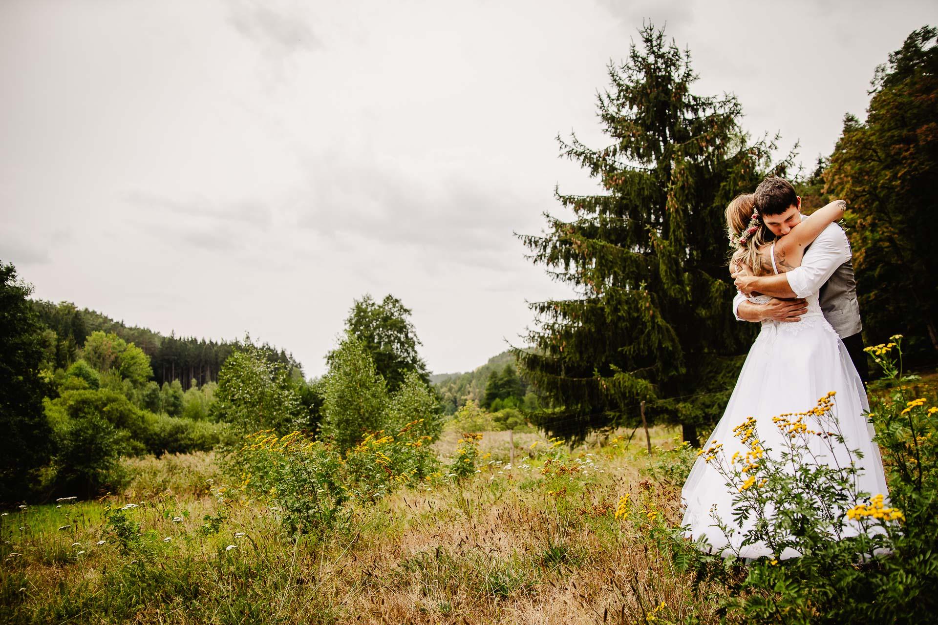 svatba v boho stylu, rustikální svatba, přírodní letní svatba Kokořínsko-158