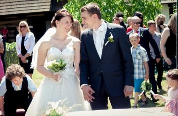 Svatební fotografie Skanzen Přerov nad Labem - Svatební fotograf Studio Beautyfoto, svatební video