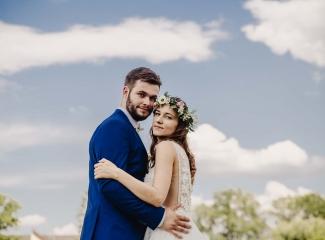 svatební fotograf Kochánky, cirkevní obřad, přírodní boho svatba-120