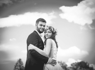 svatební fotograf Kochánky, cirkevní obřad, přírodní boho svatba-121