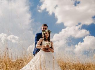 svatební fotograf Kochánky, cirkevní obřad, přírodní boho svatba-125