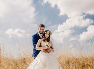 svatební fotograf Kochánky, cirkevní obřad, přírodní boho svatba-126