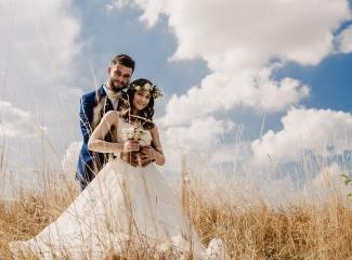 svatební fotograf Kochánky, cirkevní obřad, přírodní boho svatba-128