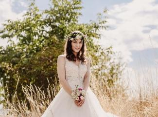 svatební fotograf Kochánky, cirkevní obřad, přírodní boho svatba-138