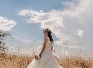 svatební fotograf Kochánky, cirkevní obřad, přírodní boho svatba-143