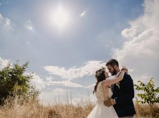svatební fotograf Kochánky, cirkevní obřad, přírodní boho svatba-150