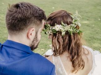 svatební fotograf Kochánky, cirkevní obřad, přírodní boho svatba-159