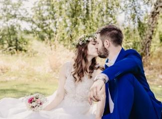 svatební fotograf Kochánky, cirkevní obřad, přírodní boho svatba-162
