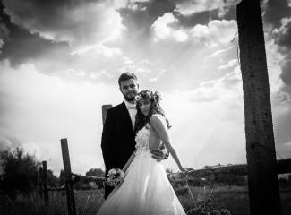 svatební fotograf Kochánky, cirkevní obřad, přírodní boho svatba-170