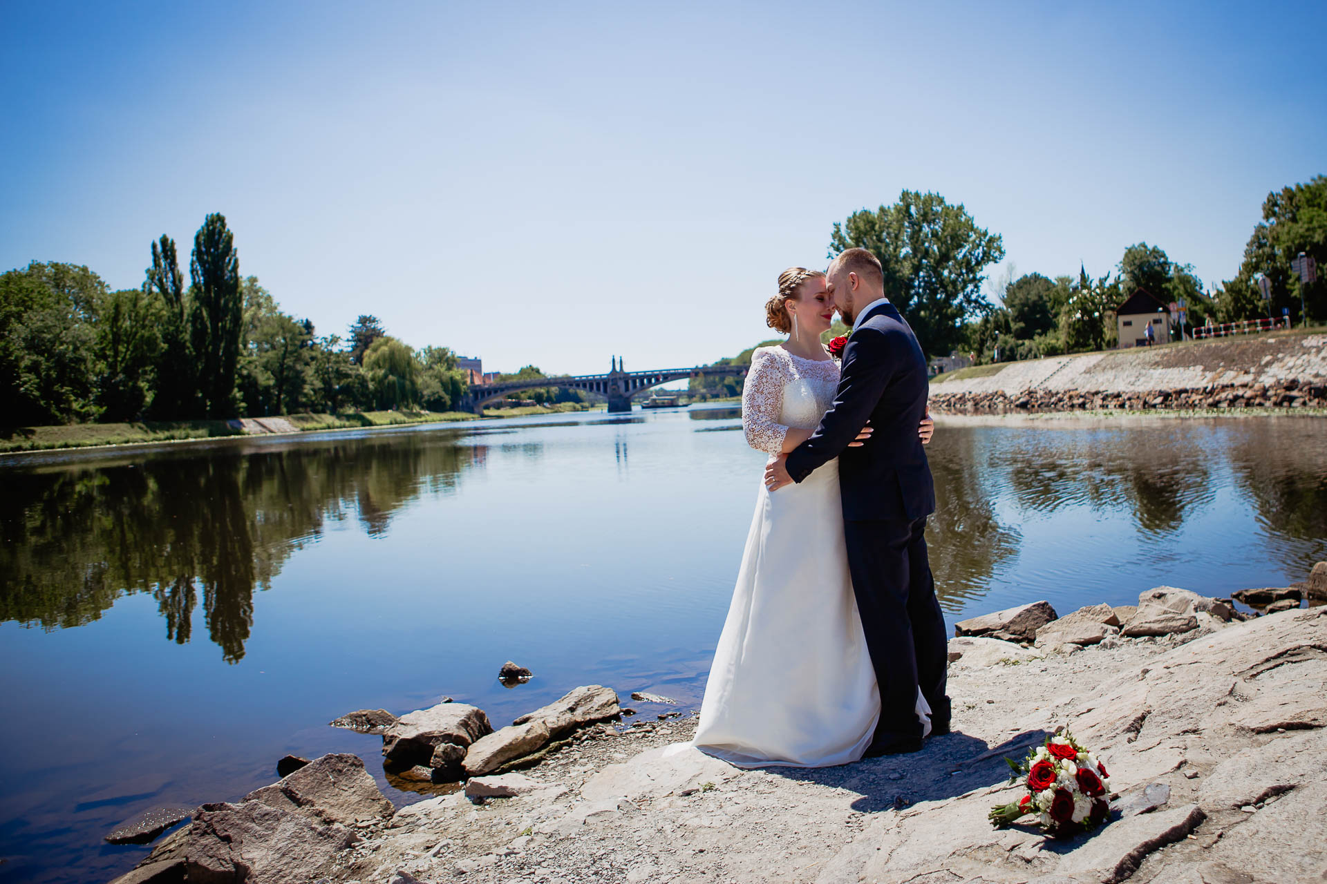 foto svatba, Havířský kostelík, Poděbrady, foto u Labe, nymburk, svatební fotograf-3639