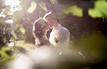 svatební fotografie v boho stylu, přírodní svatba v boho stylu, nedaleko Liberce