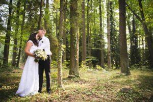 Svatba v lese, boho svatba, svatba jižní Čech